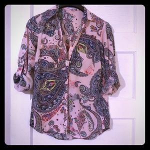 Express Portofino regular fit shirt